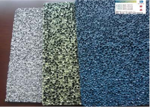 Aluminum Foam Color Plate