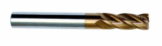 HRC 55 deg Tungsten Steel 4 Flute Square End Mills
